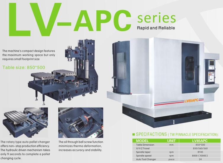 LV-APC series cnc automatic tool changer