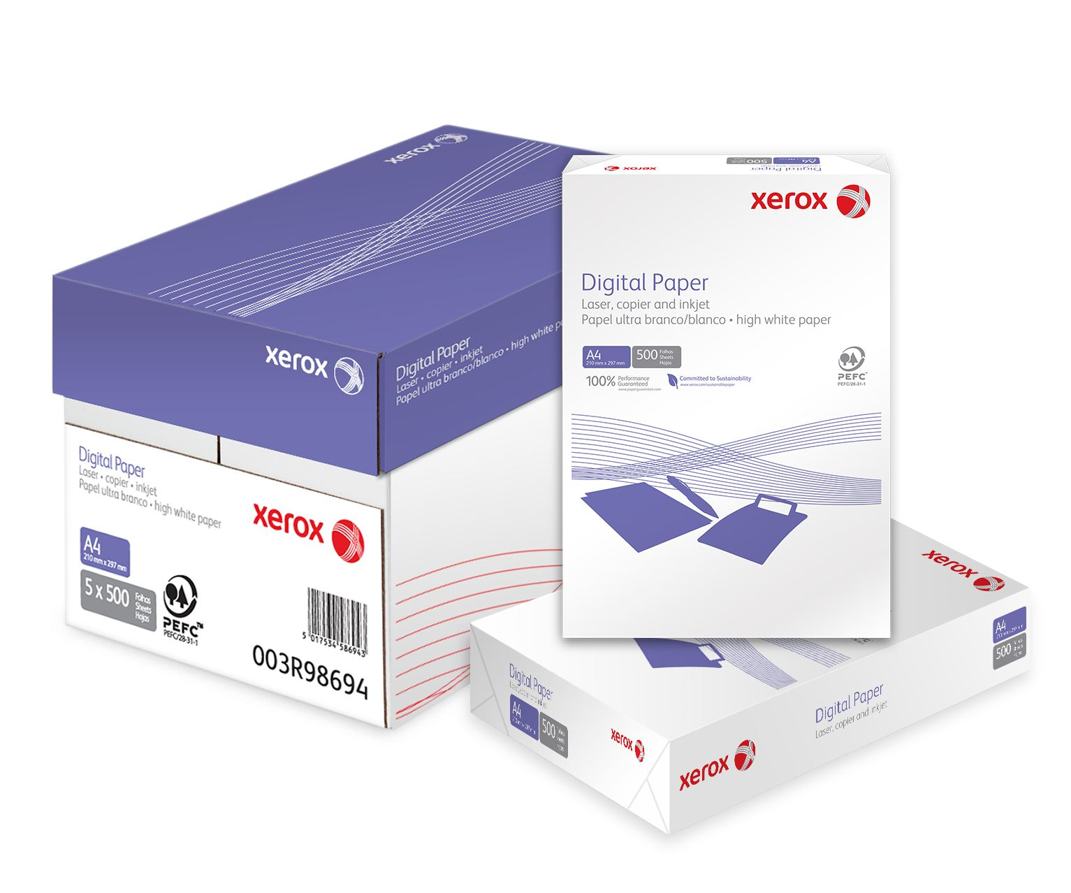 Xerox Brand A4 Copy Paper 80gsm/75gsm/70gsm Available for Sale