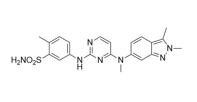 Pazopanib Free Base (CAS NO.:444731-52-6)