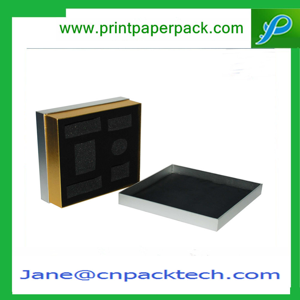 Custom High Quality Paper Gift Packaging Box Top and Bottom Boxes Shoulder Box