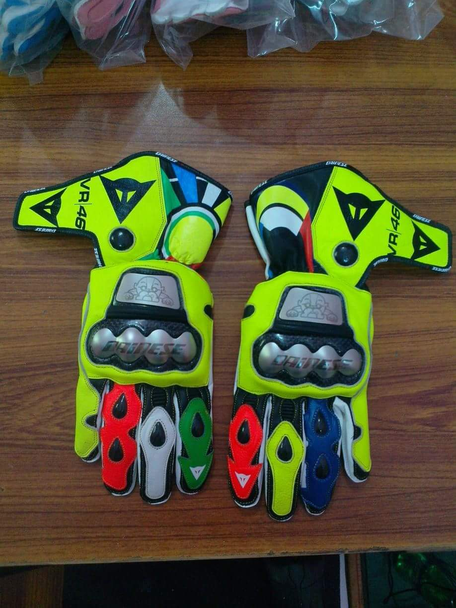 Dainese leather cowhide gloves
