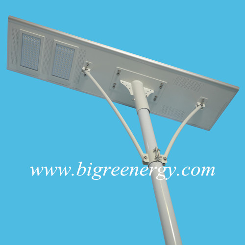 Integrated solar street light 120W