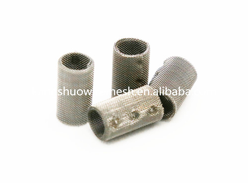 Cylinder dutch weave stainless steel micron filter tubes