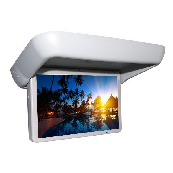 TFT type 15.6 inch car flip dowm roof mount motorized lcd monitor for sale