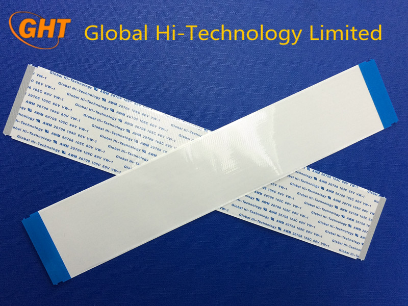 80Pin Flat Ribbon Cable 0.5mm Pitch with 225mm Total Length Tin Plating