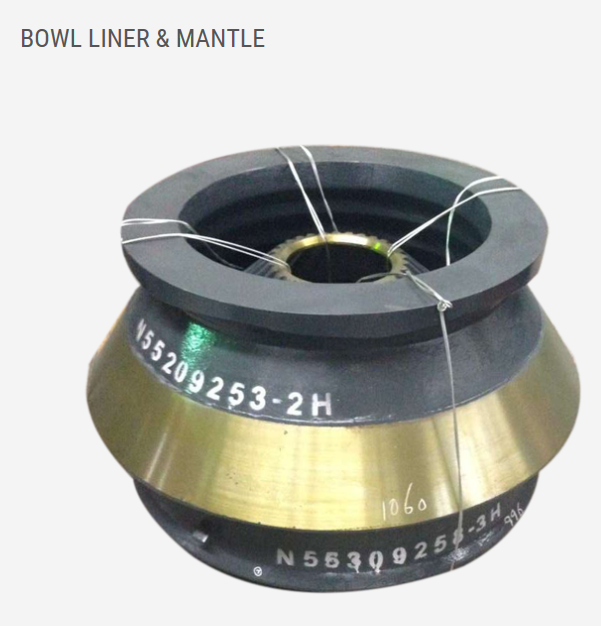 BOWL LINER · MANTLE · CONECAVE · TORCH RING
