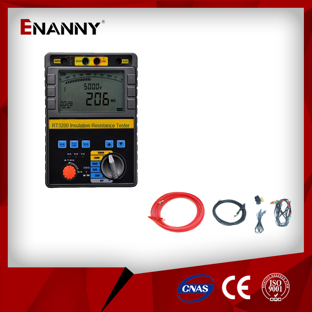 RT3200 Intelligent double insulation resistance tester