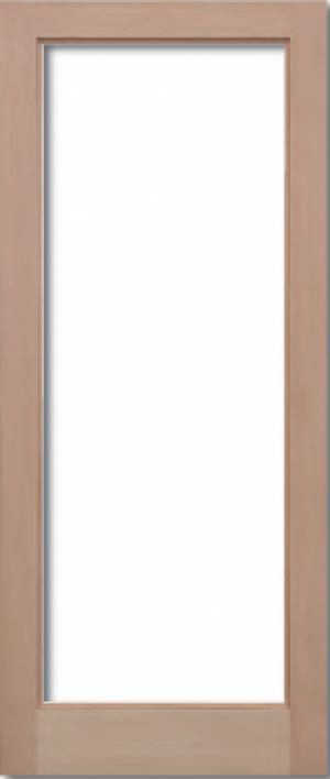 WBP Toilet Wooden Door