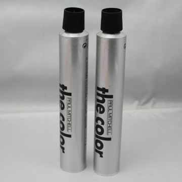 Collapsible aluminum Hair Color Tube Packaging
