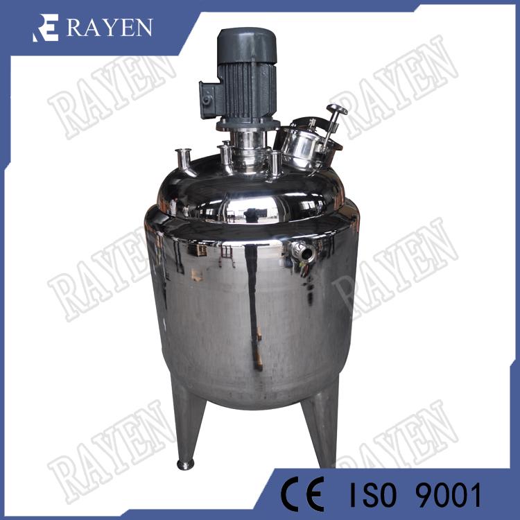 Stainless steel industrial reactor pharmaceutical reactor tank