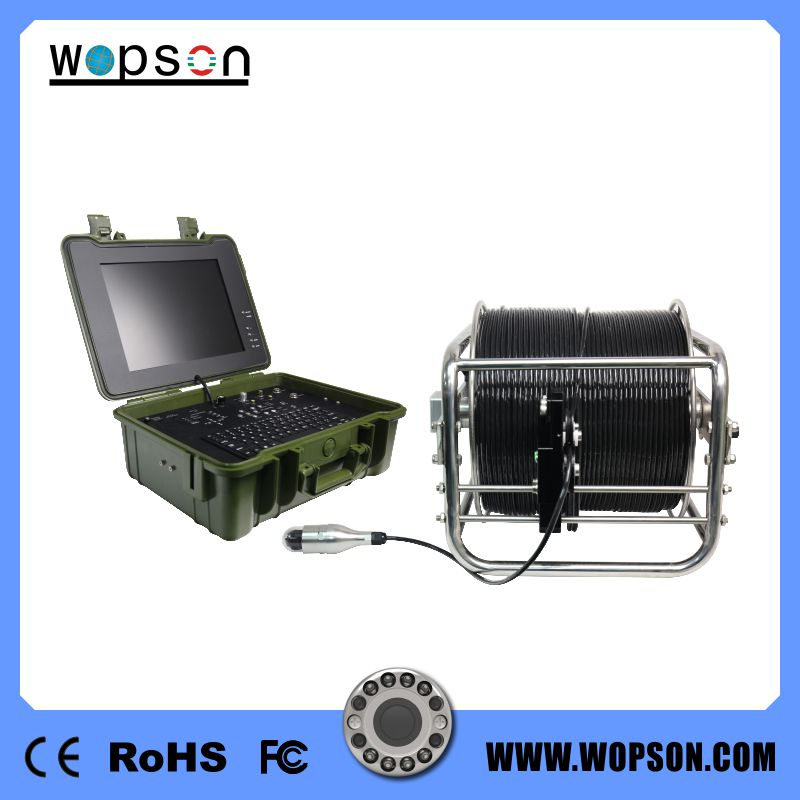 WOPSON sewer deep well inspection camera 500M underwater camera