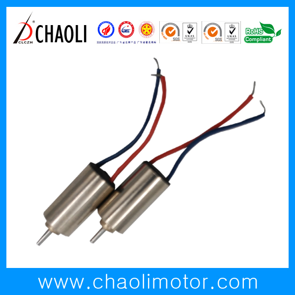 Tiny 4mm Coreless Motor CL-0408 For Small Transmission Device And Massager