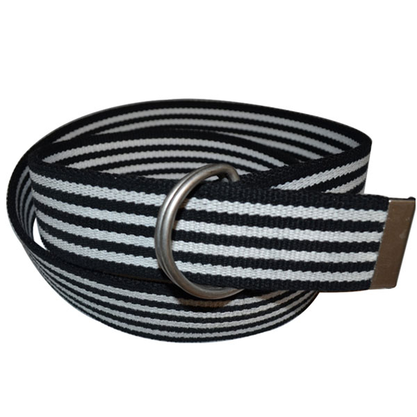 Canvas Belts with Double Drings Buckle for Man [JB17020-1-CA]
