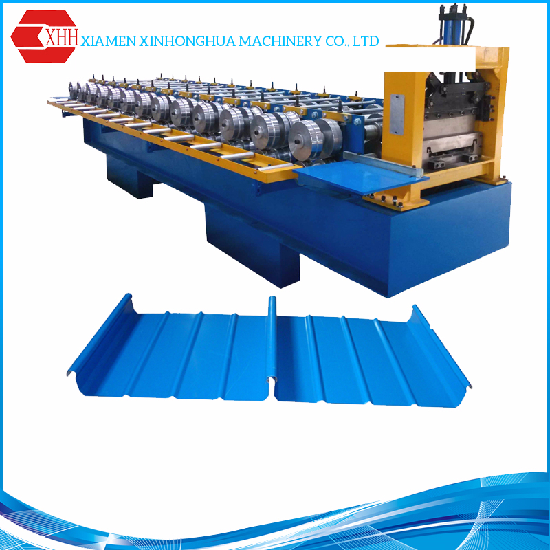 High speed steel structure building used metal roll forming machines