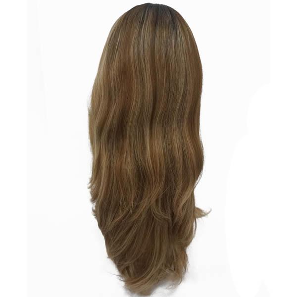High quality Mongolian virgin hair Kosher Wigs