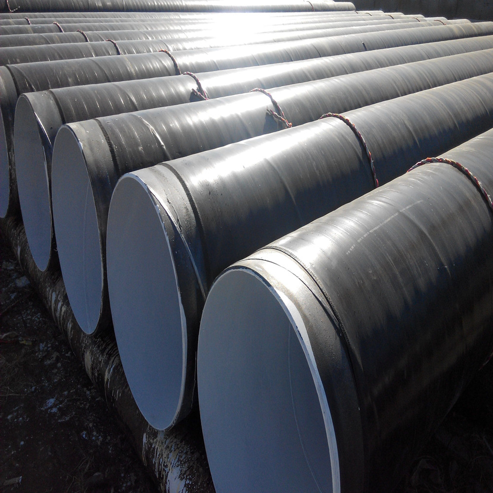 12 inch 3 pe corrosion resistance spiral welded steel pipe