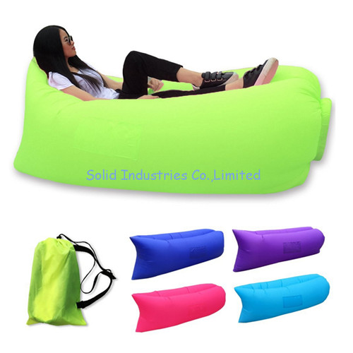 New-Designed Inflatable Camping Sleeping Bag