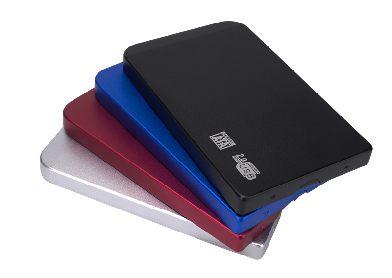 2.5 Inch HDD Case Sata to USB 2.0 HDD Hard Drive Box External Storage HDD Enclosure Box with USB Cab