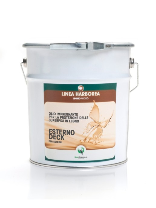 Oil Impregnating for the Protection of Decking for Exteriors Wood Protection