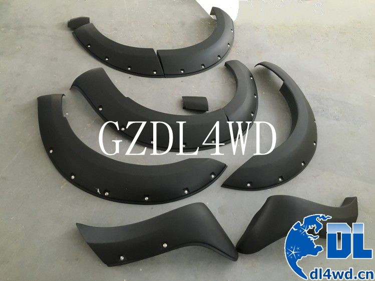 4x4 accessories PP fender flares for ford everest 2015