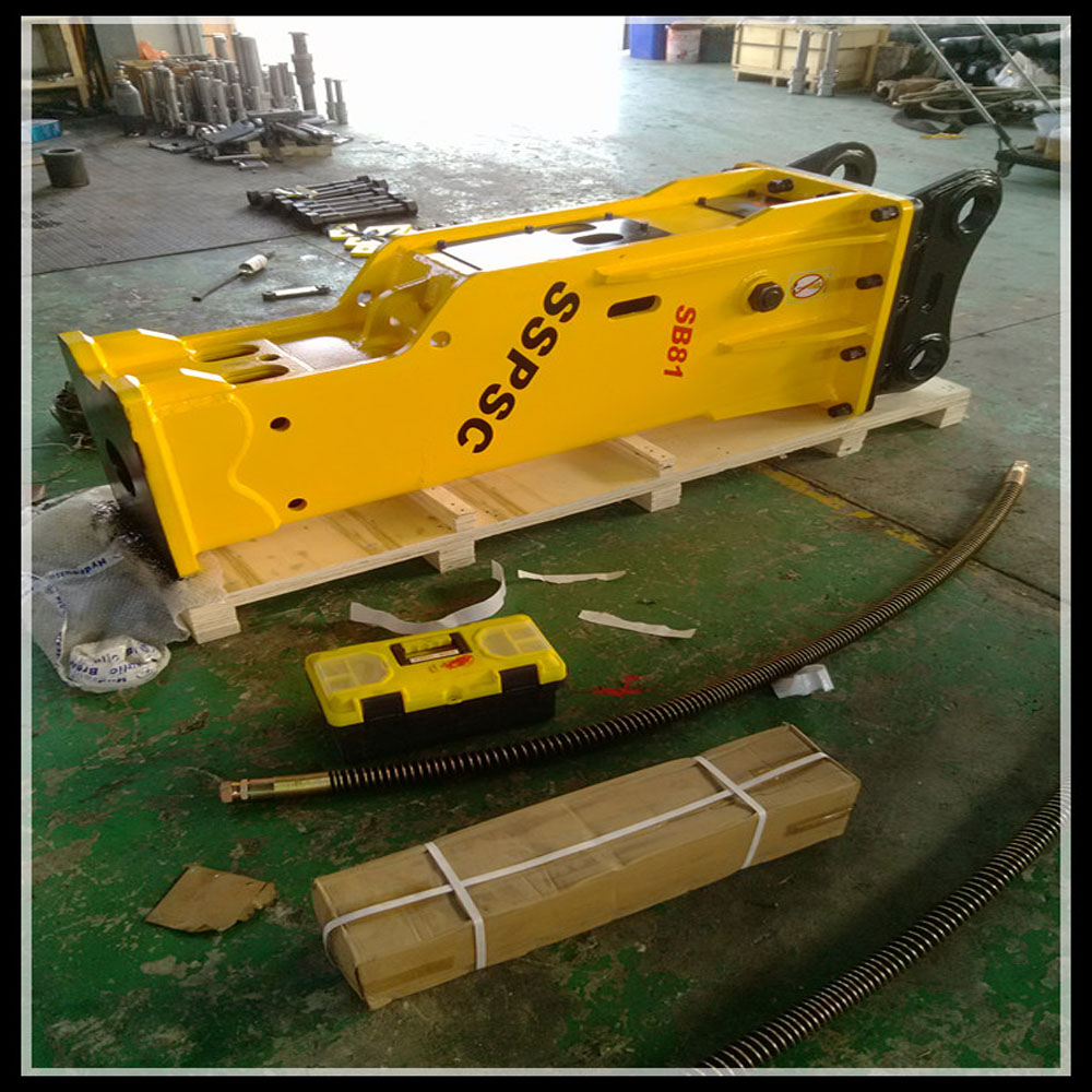 CE approved hydraulic concrete breaker hammer for excavator