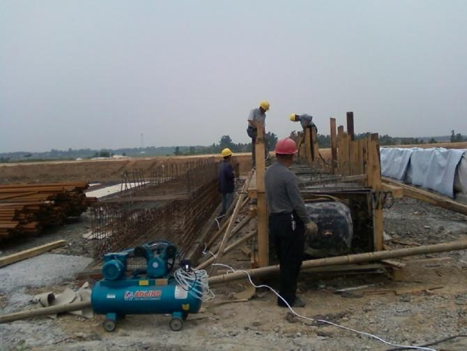 pneumatic rubber formwork used for culvert making