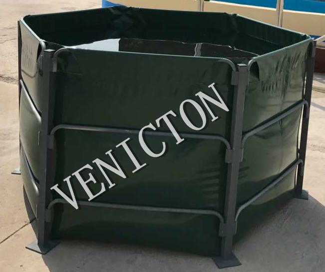 2017 New products six-side fish farming tank tarpaulin fish tank