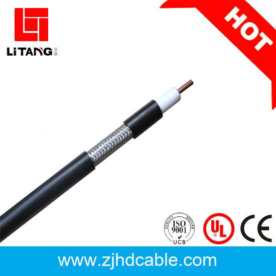 CCTV MATV CATV SYWV 75ohm pvc insulated copper braided coaxial cable rg11