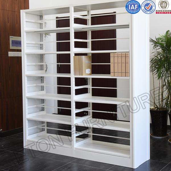 Bookend Adjustable Metal Library Bookshelf