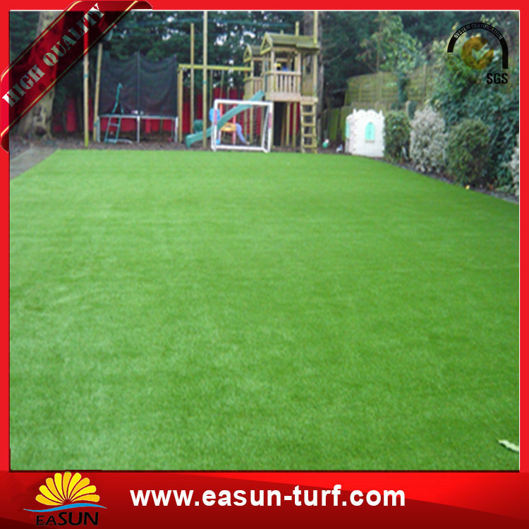plastic landscape artificial synthetic lawn grass for graden home-Donut