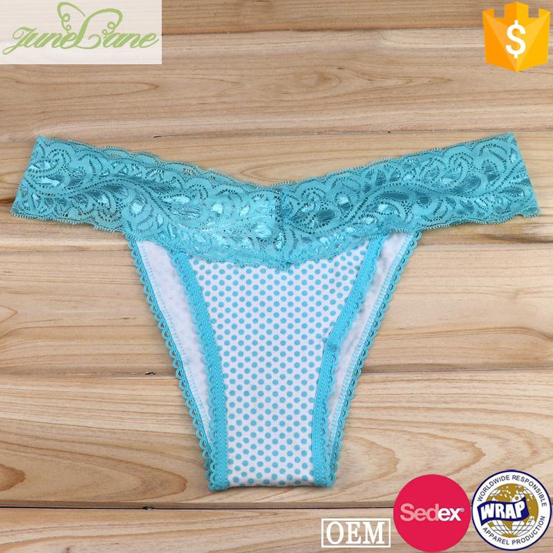Sexy lingerie intimate underwear lace bikini style women thong panties