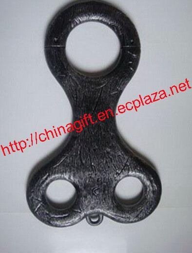Halloween Neck & Wrist Shackles lock Board