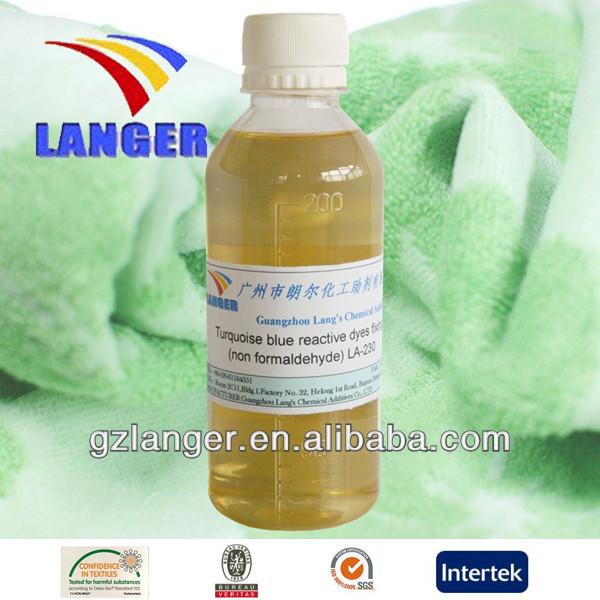 Turquoise Blue Reactive Dyes Fixing Agent(non-formaldehyde) LA-230