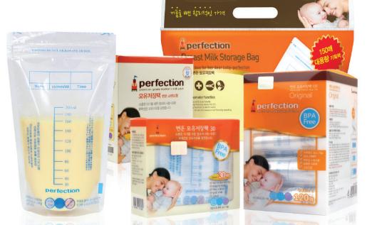 Breast milk storage pack