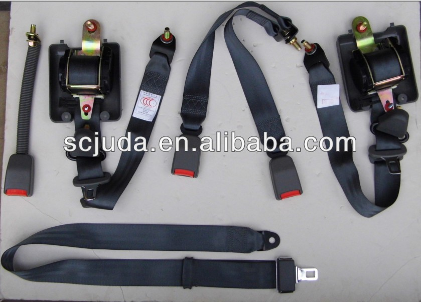 security harness school-bus and truck seat belt