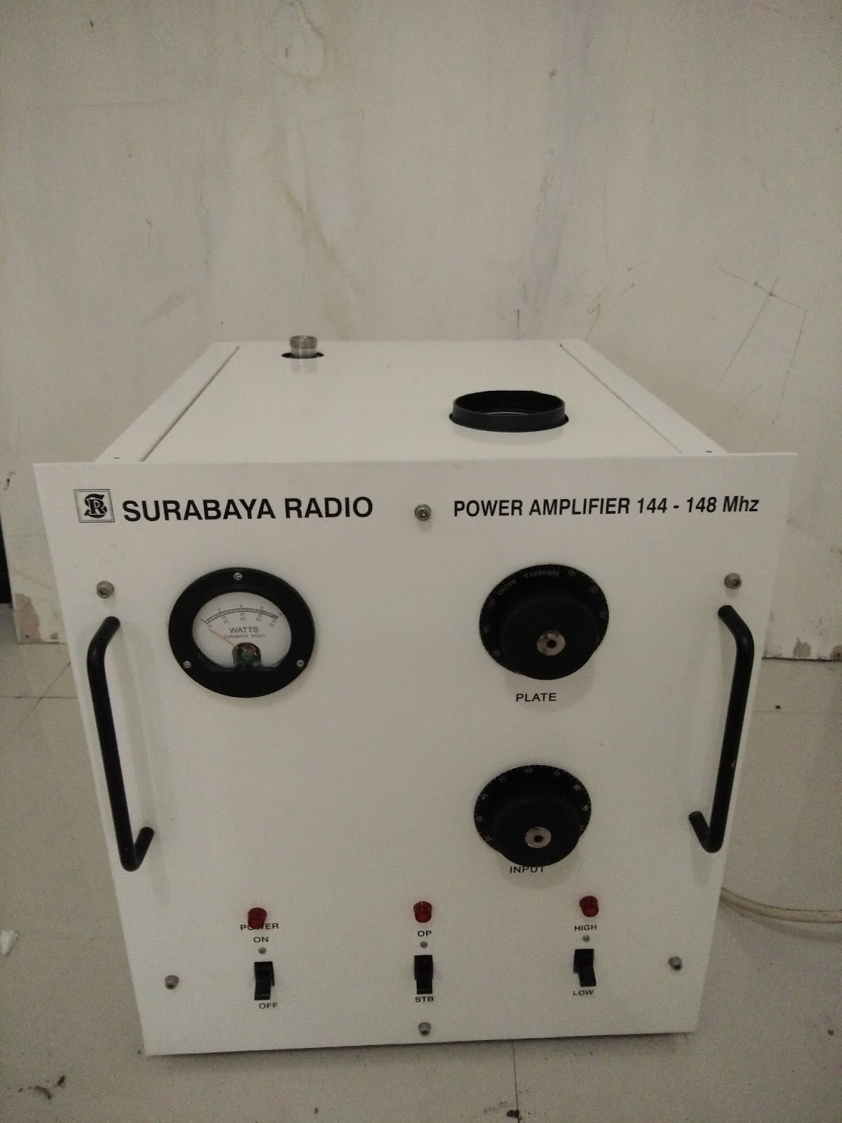 Booster 144 Mhz 2 Meter Band Tabung 1000 W