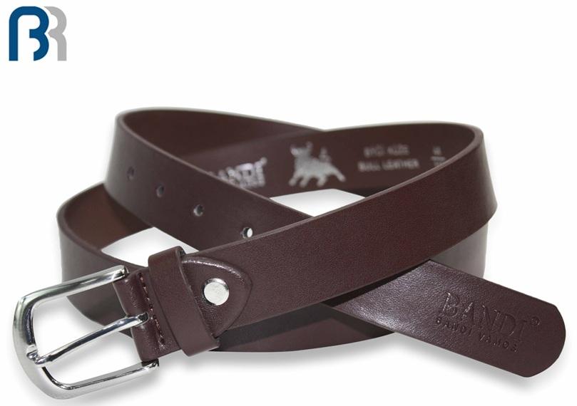 Men's Embossed Cut Edge Belt