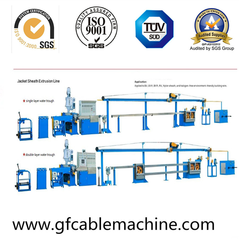 Auto High Speed Wire Cable Extrusion Machine