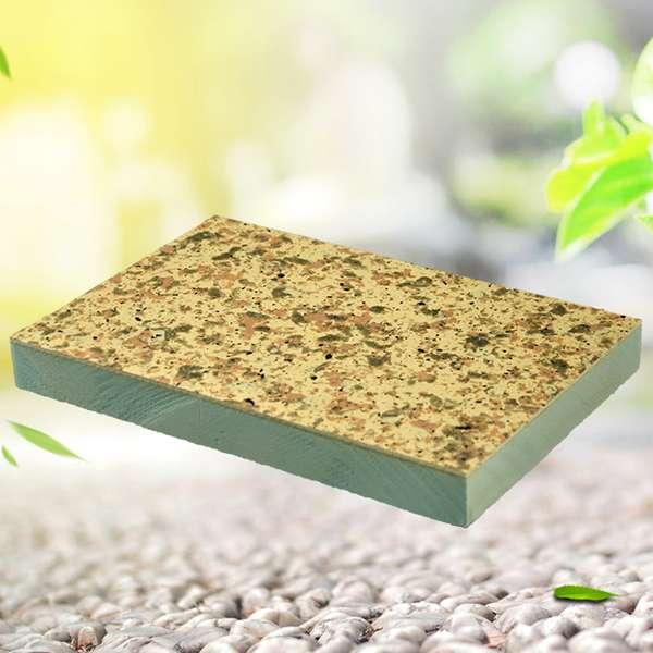 Fire insulated exterior decorative composite wall board