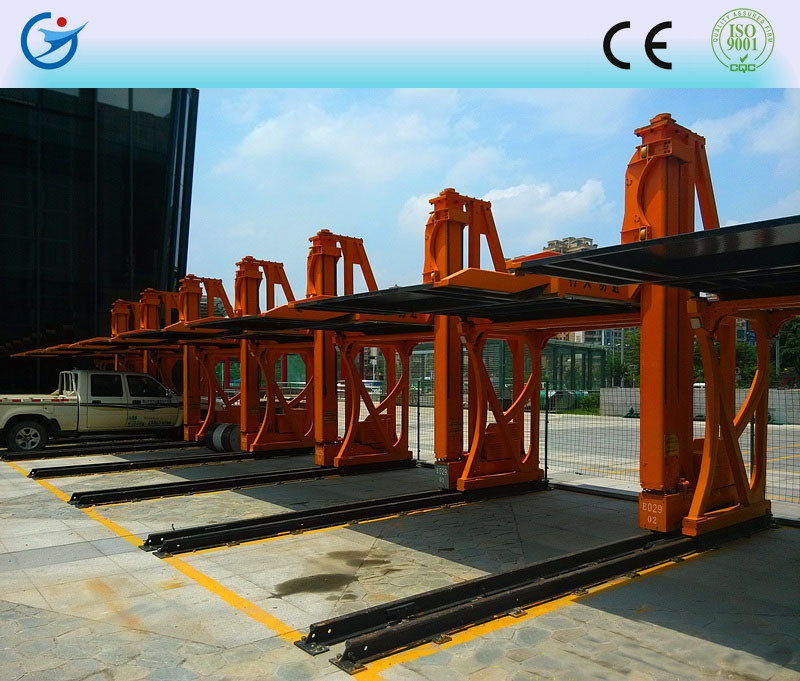 Lift -sliding motorized hydraulic car parking lift