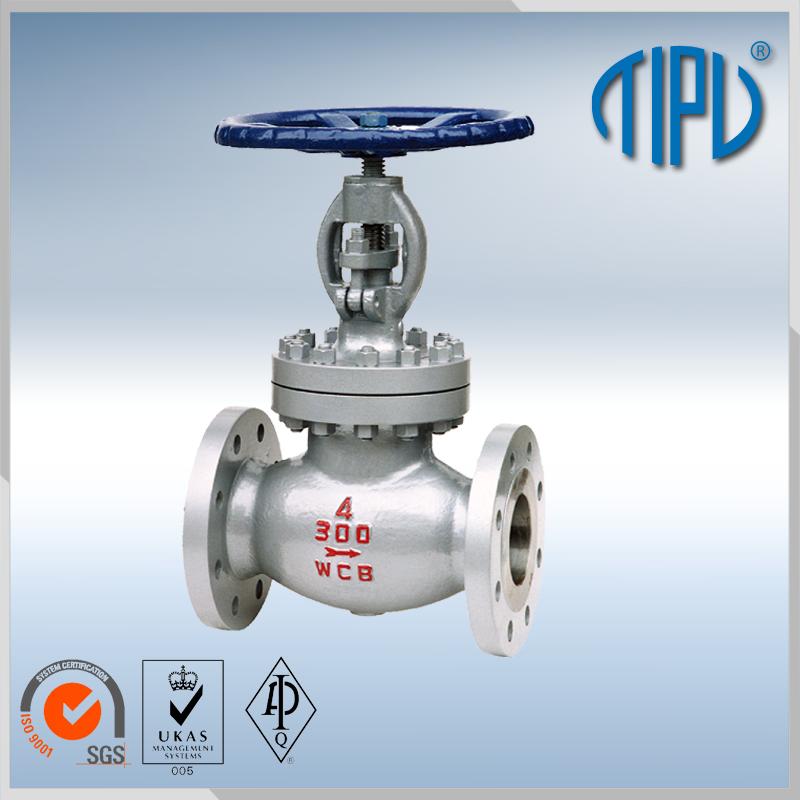 DIN 1.0619 flange globe valve
