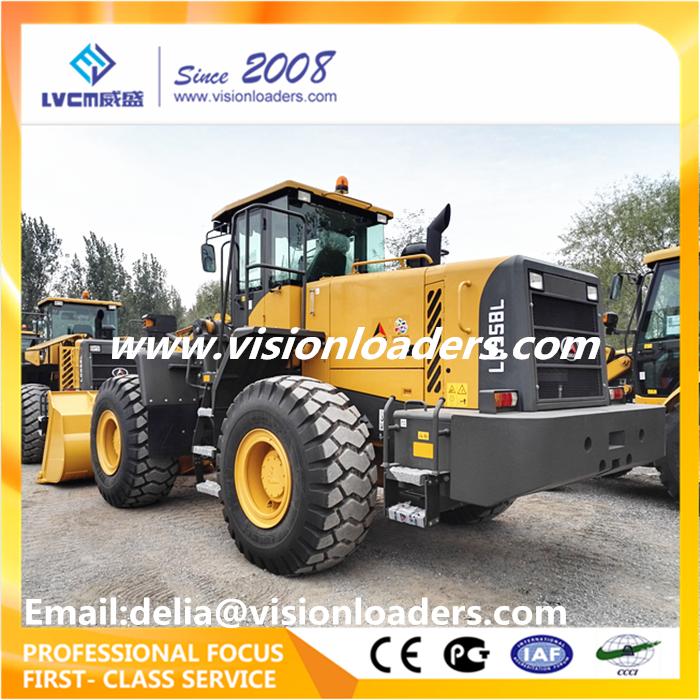 SDLG LG958L 5ton Wheel loader with ZF 4WG200 Transmission Weichai Engine