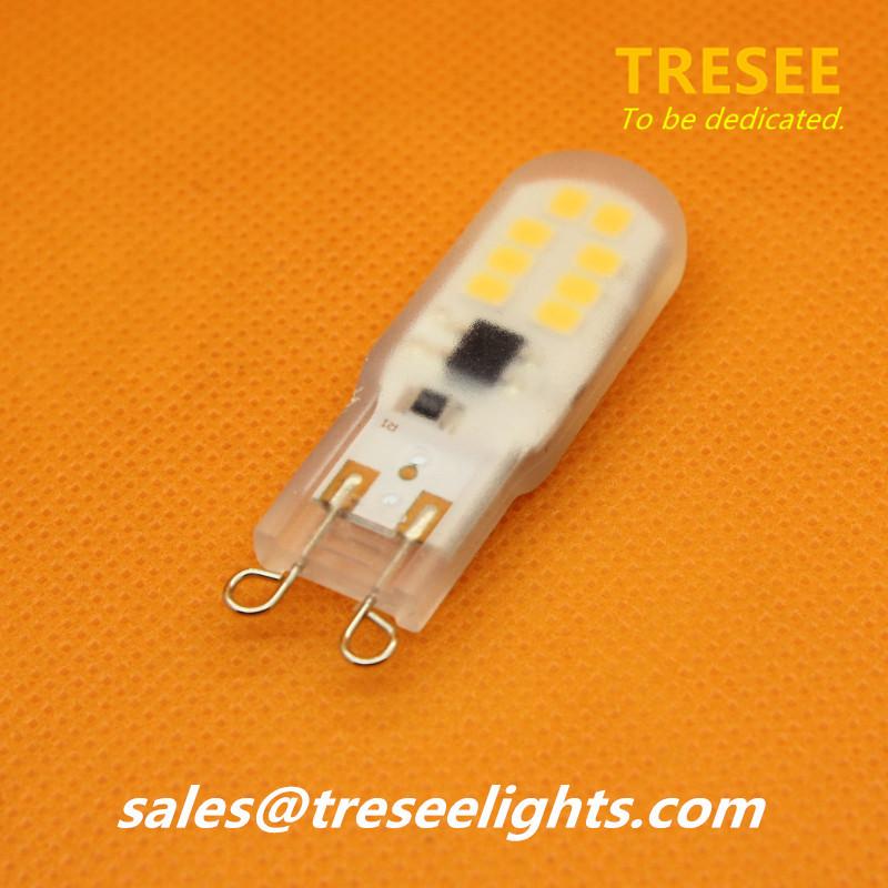 PC Housing Capsule G9 Sockel Lamp Light 2.5W LED Bulb