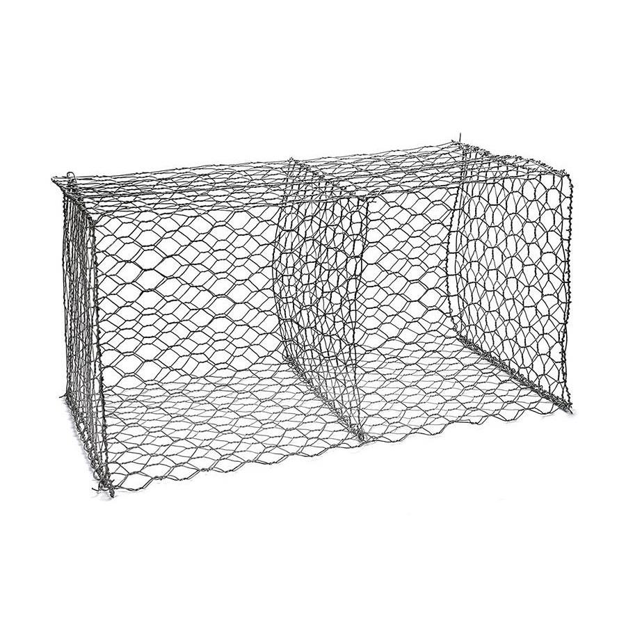 Galvanized Hexagonal Wire Mesh Gabions Baskets