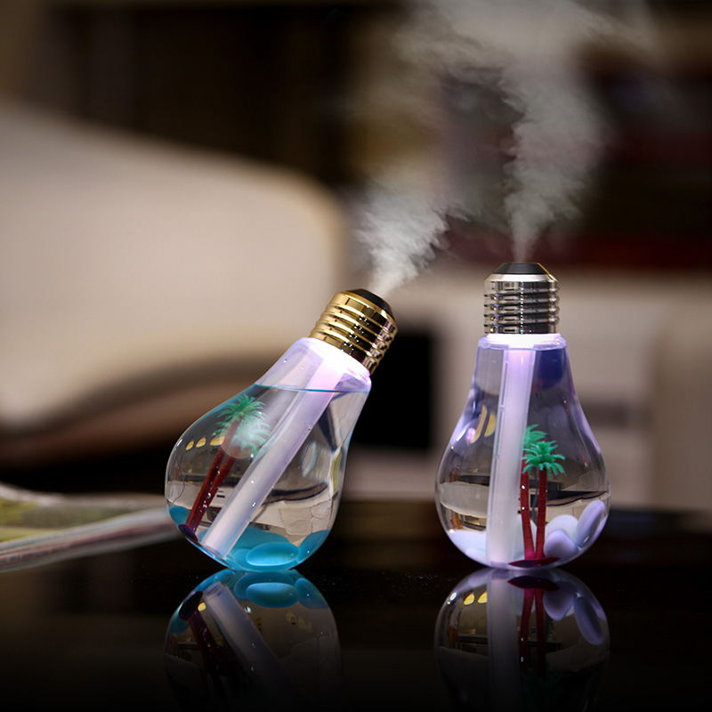 Aroma Diffuser Bulb Shape Humidifier -Nanum
