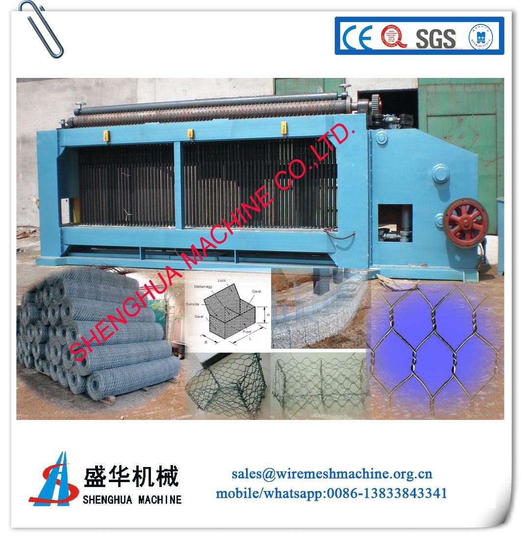 Gabion Mesh Machine(wire diameter:1.5-3.5mm)