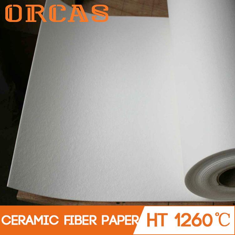 Wholesale 1260 heat resistant paper ceramic fiber paper