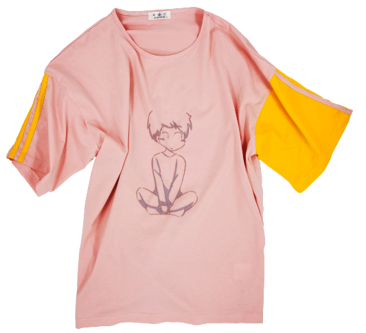 Icy smooth cotton T-shirt