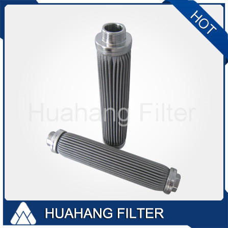 SS304 10micron Stainless Steel Candle Oil Filter Element Manufacturer