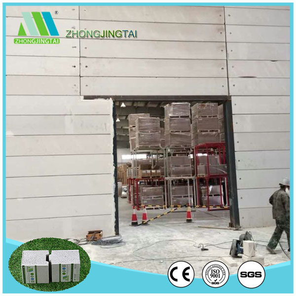 Zjt fiber cement eps sandwich panel for interior & exterior partition wall